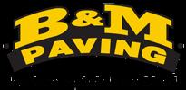 B&M Paving Logo